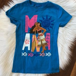 New without Tags. Disney Moana Tee size 5/6